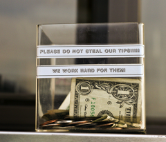 Man Fills Out Bogus Job Application Just To Steal $5 From Tip Jar