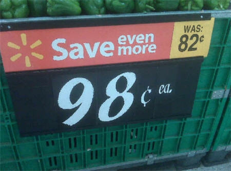 "Walmart: And By ""Save Even More"" We Mean ""We've Raised Prices"""