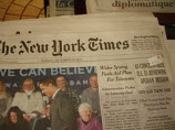 New York Times Publisher Says Print Edition Will Eventually Fade Out