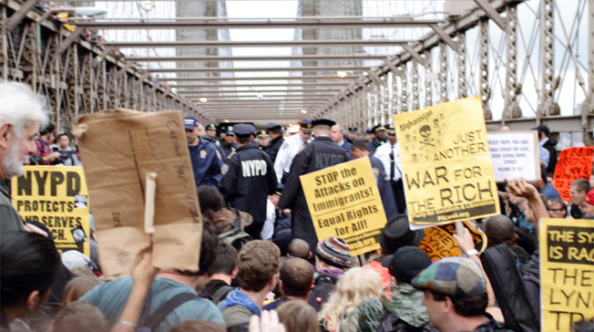 Occupy Wall Street Protests Galvanized By 700+ Arrests On Brooklyn Bridge
