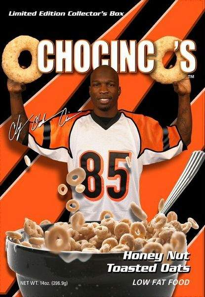 Phone Number On Chad Ochocinco's Cereal Box Is Actually Sex Line