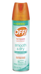Do Not Use OFF! FamilyCare Smooth And Dry Insect Repellent If You Are Allergic To Cornstarch