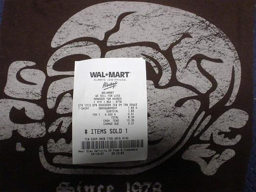 Walmart Nazi Tshirt Watch: Week 22