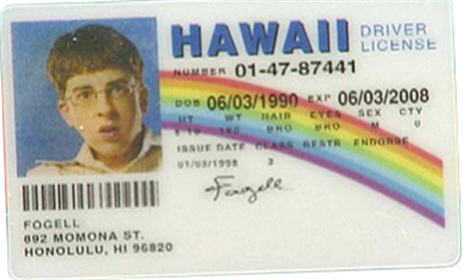 "Walmart Pulls Superbad DVD Featuring Fake Hawaii ""McLovin"" License"