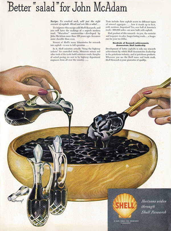 How About A Tasty Crude Oil Salad From Shell?