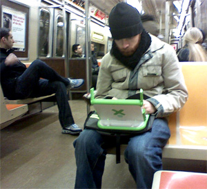 OLPC Spotted In Wild