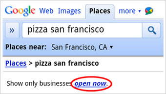 Google's Mobile Search Lets You Find Businesses That Are Open Right Now