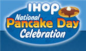 Free Pancakes Today At IHOP