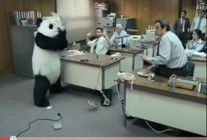 Panda Kicks Your Ass If You Say No To His Cheese