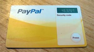 Paypal's New Security Card Fits Inside Wallet