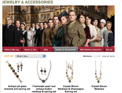 "PBS Gets In Trouble For Hawking ""Downton Abbey"" Jewelry Without Permission From Show's Creators"