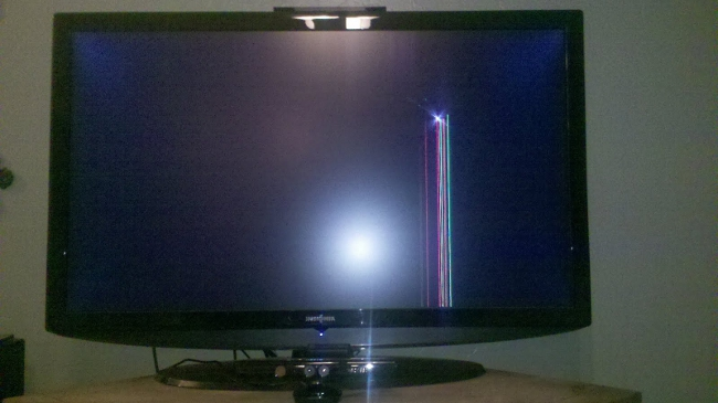 Who Is The First Moron To Break His TV With The Kinect?
