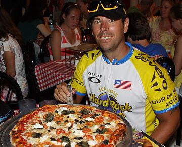 Man Biking From Florida To NYC To Promote Pizza As Health Food