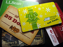 $2 Billion In Gift Cards Will Go Unused This Year
