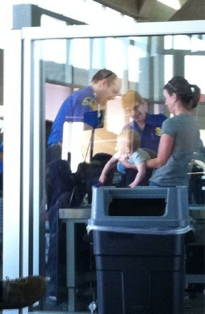 TSA Tries To Explain Need For Patting Down An Infant
