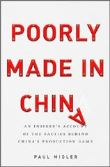 New Book: Poorly Made In China