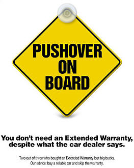 "Consumer Reports Calls You A ""Pushover"" For Buying The Extended Warranty Sales Pitch"