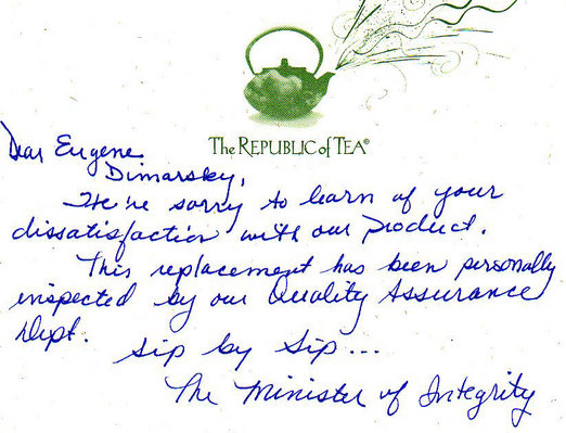 A Swell Experience With Republic of Tea