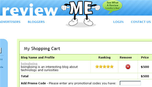"ReviewMe.com Caught Selling ""Product Reviews"" On Lifehacker, BoingBoing"