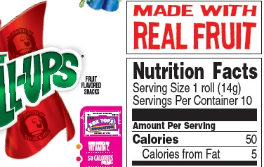"General Mills Must Defend Claim That Fruit Roll-Ups Are ""Made With Real Fruit"""