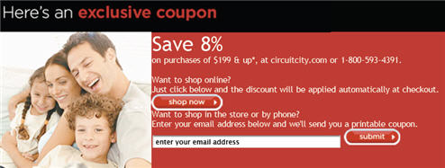 What Exactly Can You Buy With This Circuit City Coupon?