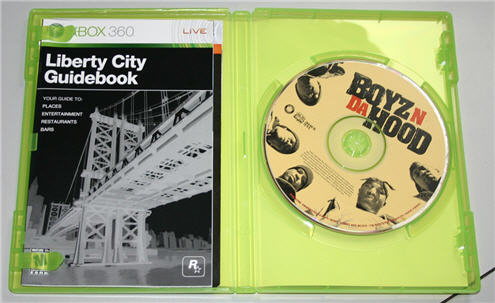 "Your New, Sealed Copy Of GTA4 Contains ""Boyz N Da Hood"" Disc"