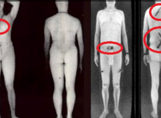Man Claims You Can Beat TSA Scanners By Placing Contraband Along The Side Of Your Body