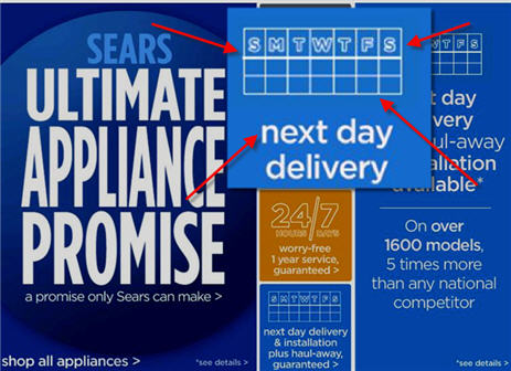 "Sears' ""Ultimate Appliance Promise"" Vs. Reality"