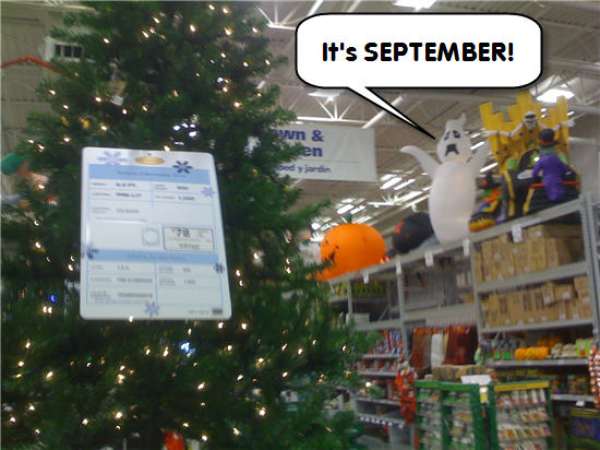 lowes halloween decorations are already sick of christmas consumerist - Lowes Christmas Decorations