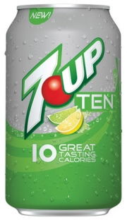 10-Calorie Versions Of 7-Up, RC, Sunkist, A&W, Canada Dry Now Being Tested