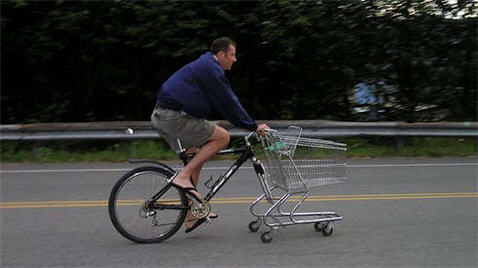 How To Build A Shopping Cart Bike