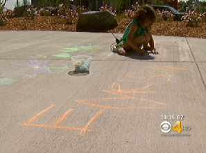HOA Tries To Put An End To Scourge Of Sidewalk Chalk
