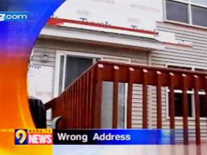 Contractor Tears Siding Off Wrong House