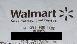 Walmart Enlists Help Of Local Police Officer To Force You To Show Receipt