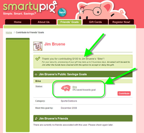 Save For Specific Goals With SmartyPig.com