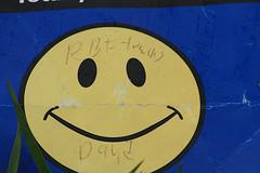 old walmart logo smiley face