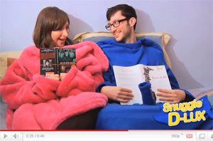 Introducing The Snuggie D-Lux
