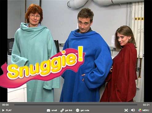 Video: Consumer Reports Tests The Snuggie