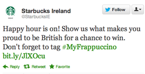 Starbucks Forgets That Whole Irish Independence Thing, Asks Country About Its British Pride