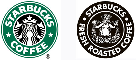 Principal Steams Over Retro Boobie Starbucks Logo