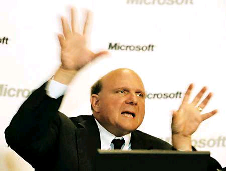 Contact Microsoft CEO Steve Ballmer