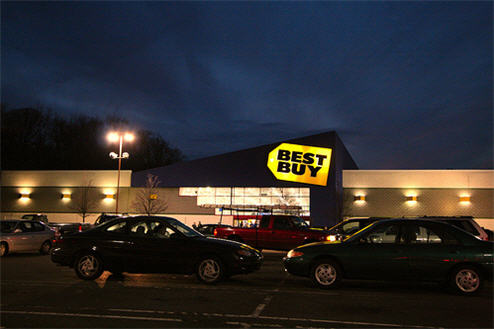 Rumble In The Strip Mall: Best Buy Calls Out Walmart