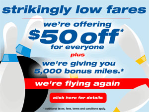 Spirit Airlines Flights Resume Friday, Offers Everyone $50 Off
