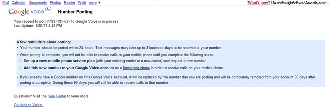 Google Voice Number Porting Stalled For 19 Days