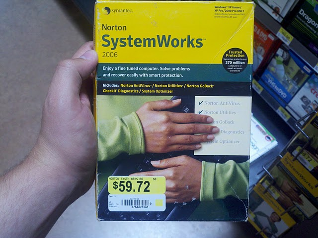 Norton SystemWorks 2006 On Sale At Walmart For Only $59.72