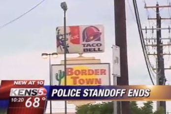 SWAT Called, Gunman Pissed Over Price Of Taco Bell Burritos