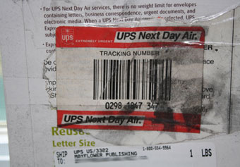 Where Has This UPS Envelope Spent The Last 14 Years?