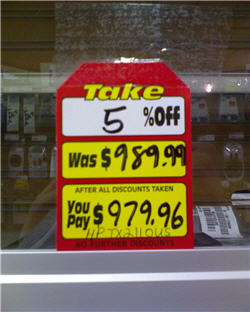 Circuit City Liquidator Demonstrates Its Ability To Do Math