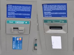 Customer Discovers Card Skimmer On Bank ATM
