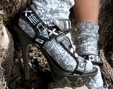 Go Hiking In Style With These Teva Stiletto Heels